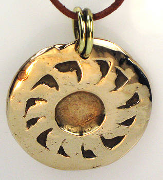 Esprit del Sol - Southwest Sun Spirit Necklace by Virginia Vivier