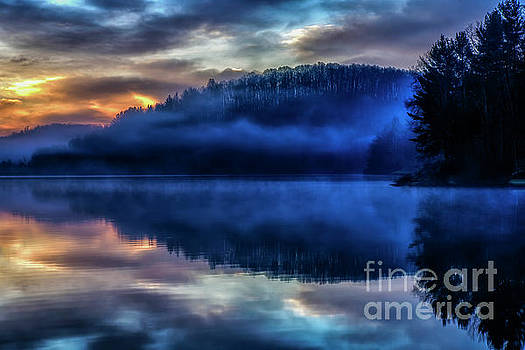 First Light at the Lake by Thomas R Fletcher