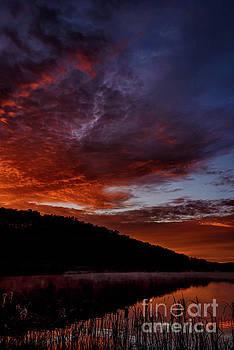 First Light Big Ditch Lake by Thomas R Fletcher
