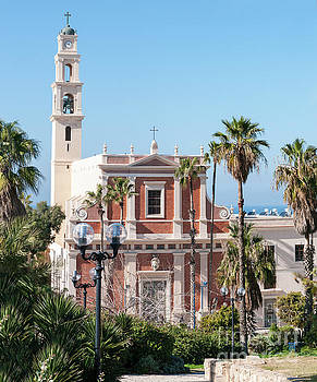 Jaffa, St Peter church and Monastery by Ilan Rosen