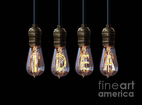 Light Bulb Background by Setsiri Silapasuwanchai