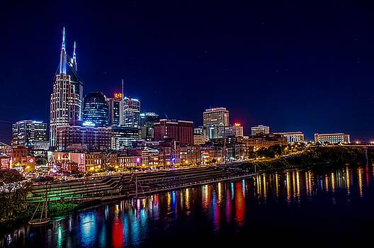 Nashville, TN Skyline by Patrick Collins
