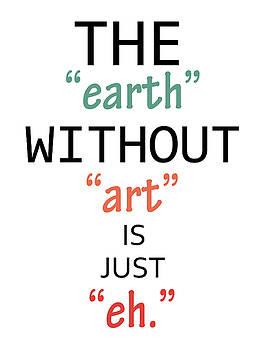 Ricki Mountain - Quote art