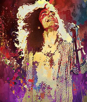 Robert Plant by Elena Kosvincheva