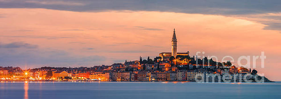 Rovinj is a city on the Istrian peninsula, Croatia by Henk Meijer Photography