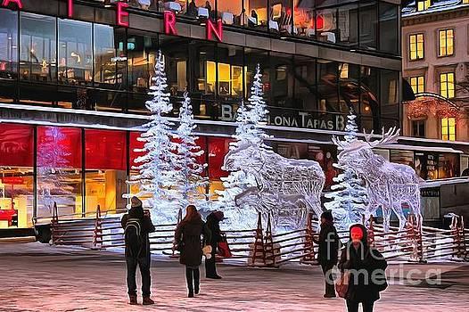 Stokholm Street by Yury Bashkin