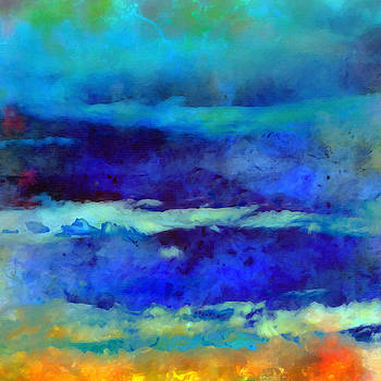What-a-Color Art Series -Seascape Art by Ricki Mountain