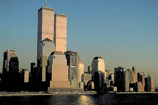 World Trade Center before 9/11 by Carl Purcell
