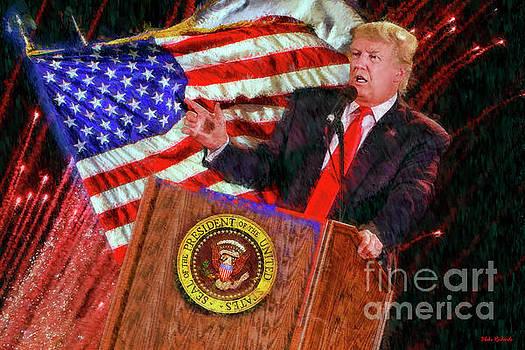 45th President Donald J Trump by Blake Richards