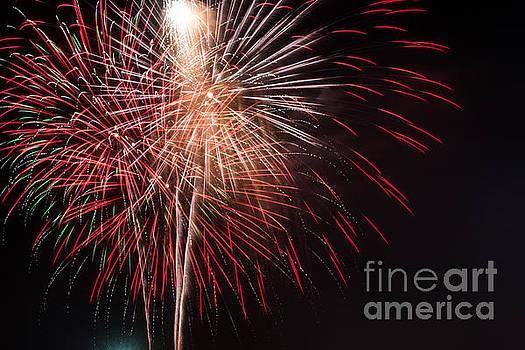4th of July Fireworks by John Baumgartner