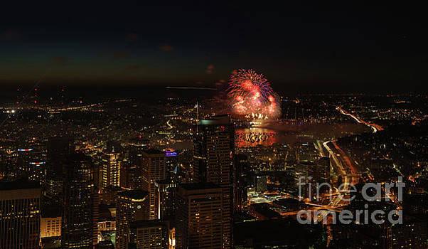 4th of July in Seattle by Mike Reid