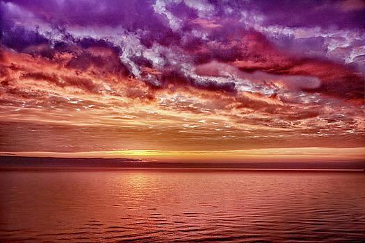 4th of July Sunset by Kathi Mirto
