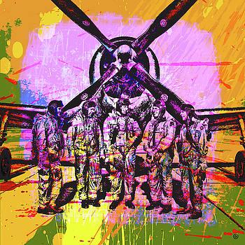 5 Airmen by Gary Grayson