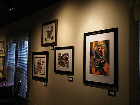 Art Show by Andrea Inostroza