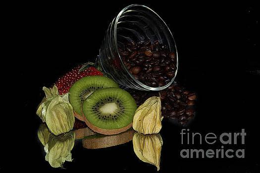 Fruits With Coffe by Elvira Ladocki