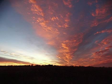 Kansas Sunset by Rebecca Overton