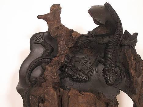 Lizards by Thu Nguyen