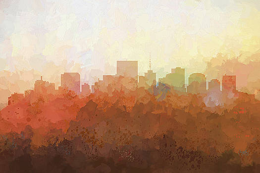 Richmond Virginia Skyline by Marlene Watson