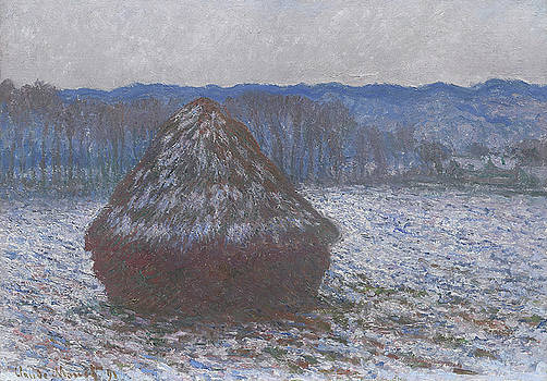 Claude Monet - Stack of Wheat
