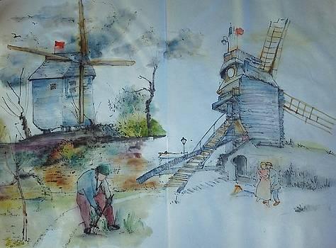 Van Gogh in Chinese style album by Debbi Chan