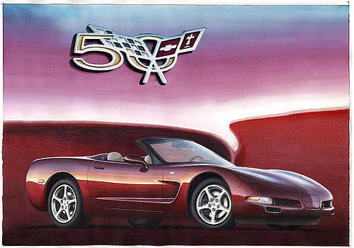 50th Anniversary Corvette by Rod Seel