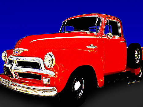 54 Chevy Pickup Acme of an Age by Chas Sinklier