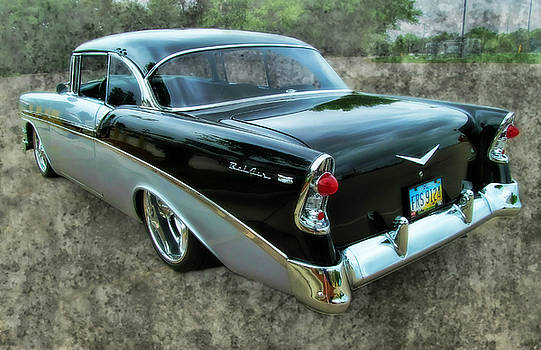 '56 Chevy Rear by Victor Montgomery