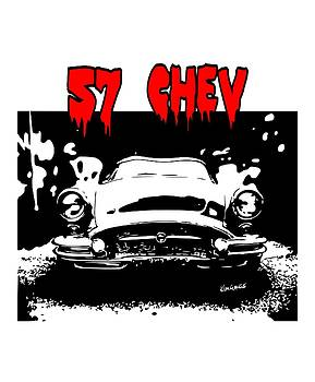 57 Chev by Kim Gauge