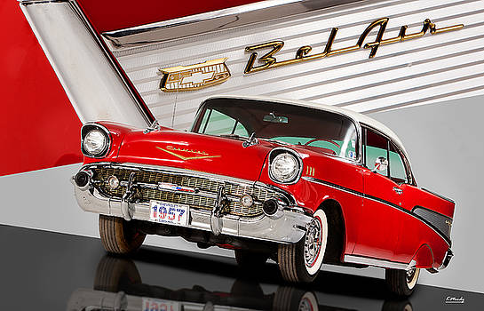 57 Chevrolet Bel Air Hardtop by Kevin Moody