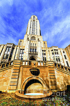 Cathedral of Learning by Thomas R Fletcher