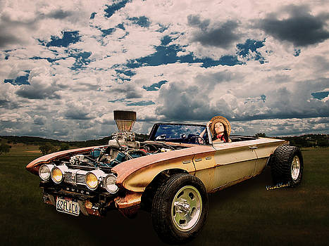 62 Buick Rat Rod Roadster Flaca by Chas Sinklier