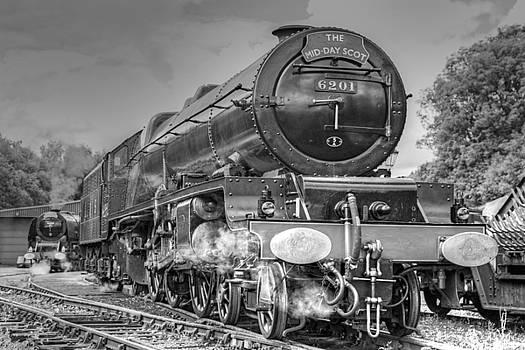6201 Princess Elizabeth at Swanwick by David Birchall