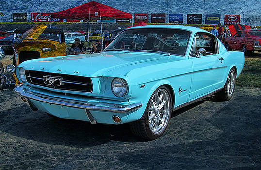 '65 Ford Mustang Fastback by Victor Montgomery