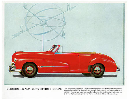 66 Oldsmobile by Allen Beilschmidt