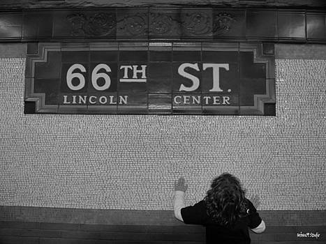 66th Street New York City Subway by Alexander Aristotle