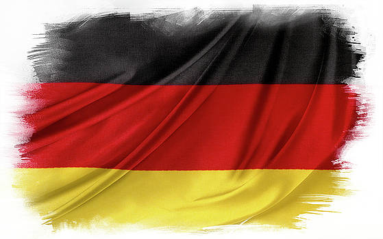 German flag by Les Cunliffe