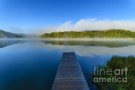 Misty Summer Morning  by Thomas R Fletcher