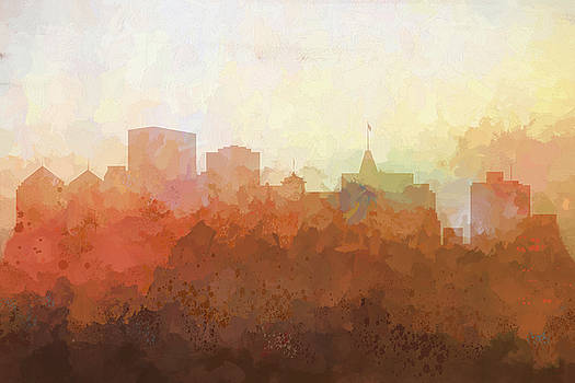Oakland California Skyline by Marlene Watson