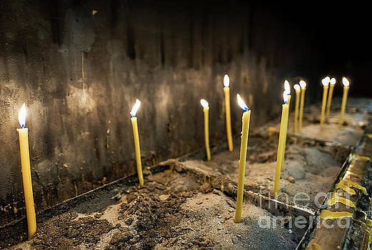 Votive Candles by John Greim