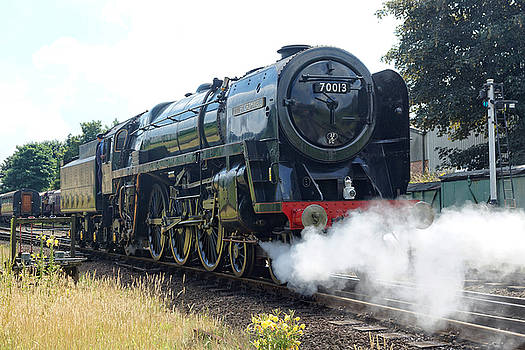 70013 Oliver Cromwell at Loughborough by David Birchall