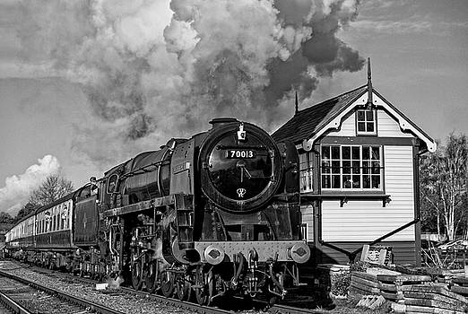70013 Oliver Cromwell at Quorn by David Birchall