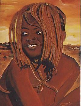 The Himba Girl by Patrick Desenclos