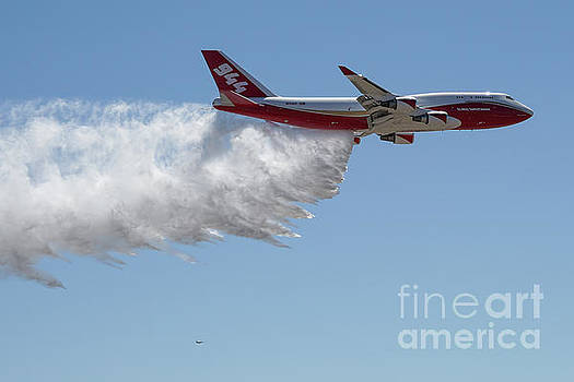 747 SuperTanker drop by Bill Gabbert