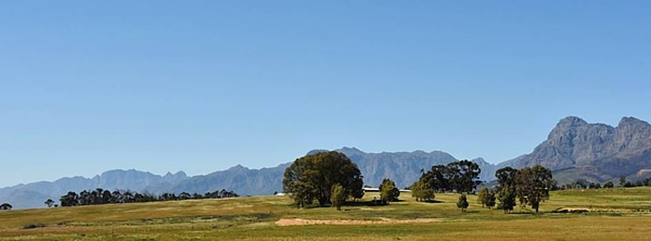 Hottentots Holland Mountains by Werner Lehmann