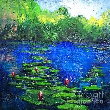 8 Mile Creek Lagoon - Bajool - original sold by Therese Alcorn