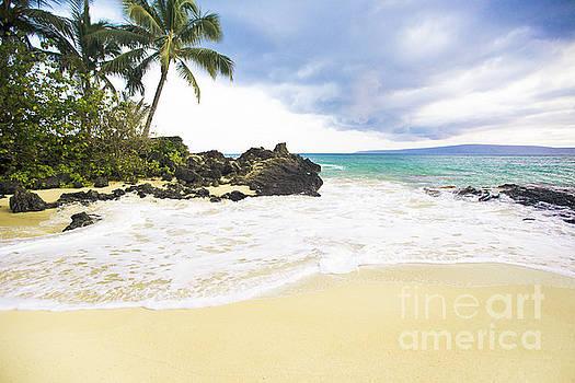 Paako Beach Makena Maui Hawaii by Sharon Mau