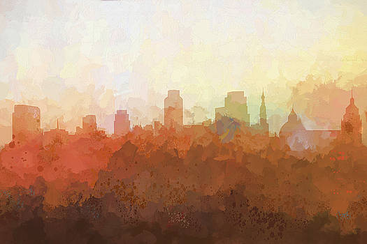 Sacramento California Skyline by Marlene Watson