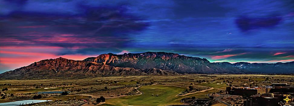 Sandia Mountains by Tony Lopez