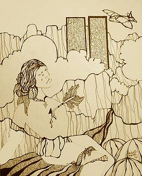 9-11 Coloring Book Page by Dede Shamel Davalos