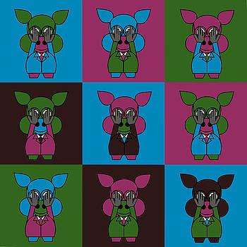 9 Zoo-Veterinarians by Asbjorn Lonvig